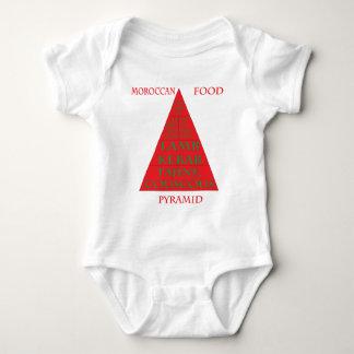 De Marokkaanse Piramide van het Voedsel T Shirts