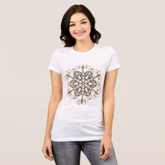De Marokkaanse T-shirt van de Sneeuwvlok van de