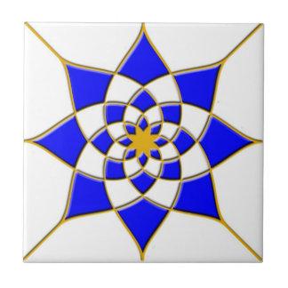 De Marokkaanse Tegel van de Ster Keramisch Tegeltje