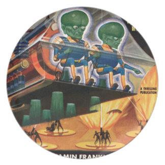 De Marsbewoners gaan voor een Rit Melamine+bord