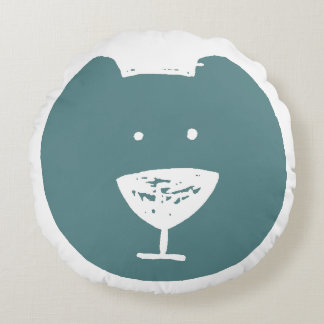 De martini-neus draagt rond kussen
