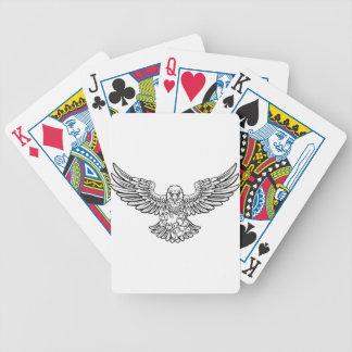 De Mascotte van Gamer van de Sporten van Eagle Pak Kaarten