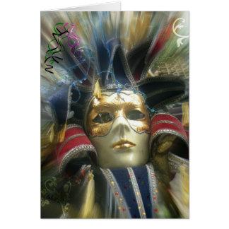 De Maskerade van kleuren Kaart