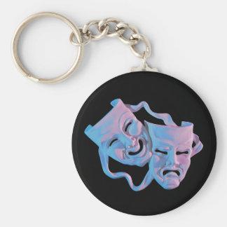 de Maskers Keychain van Gras van mardi Sleutelhanger