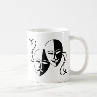 De Maskers van het theater Koffiemok