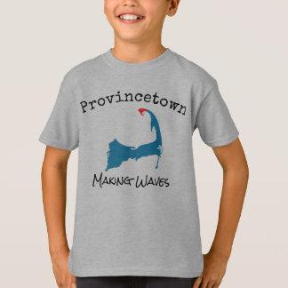 De Massa die van Provincetown het grijze overhemd T Shirt
