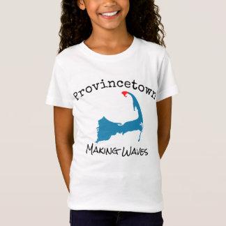 De Massa die van Provincetown het kind van Golven, T Shirt