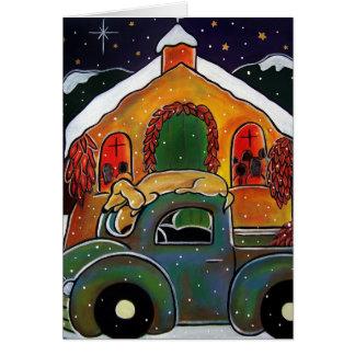De Massa van Kerstmis tegen Januari Oliver Kaart