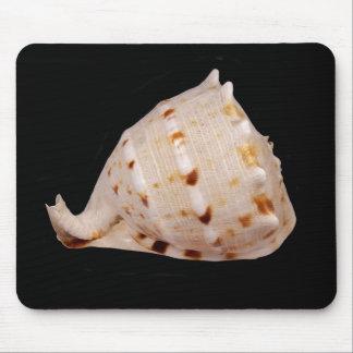 De Mat van de Muis van Shell van de kroonslak Muismatten