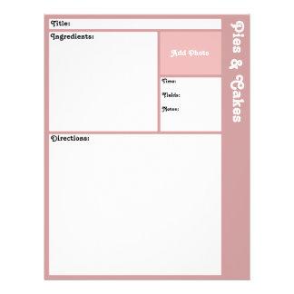 (De Mauve) Pagina's van het recept Flyer 21,6 X 27,9 Cm