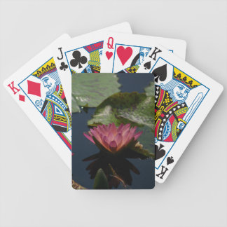 De mauve Roze Paarse Speelkaarten van Waterlily Poker Kaarten