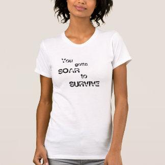 De maximum Rit, stijgt om te overleven T Shirt