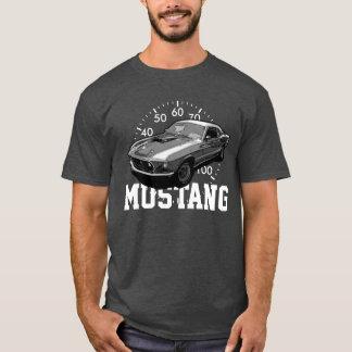 De mechanische macht van de mustang t shirt