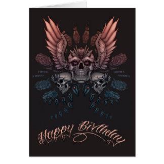 De mechanische Verjaardag van de Schedel Briefkaarten 0