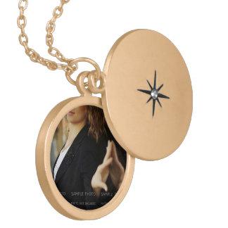De Medaillonnen van de foto en de Juwelen van het Locket Ketting