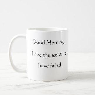 De Medewerker van de goedemorgen Koffiemok