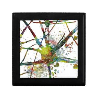 De Medische Abstracte Gift van synapsen Decoratiedoosje
