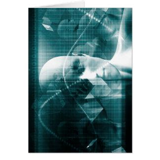 De medische Futuristische Technologie van de Briefkaarten 0