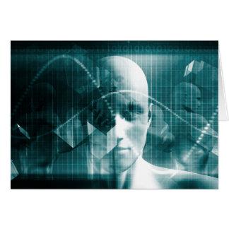 De medische Futuristische Technologie van de Kaart