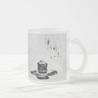 De meditatiemok van Zen Matglas Koffiemok