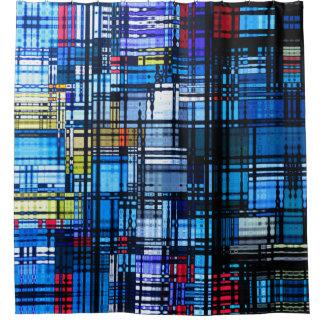 De meestal Blauwe Moderne Samenvatting van het Gordijn 0
