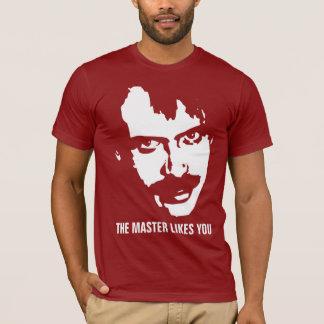 De meester houdt van u t shirt
