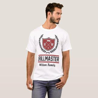 de meester van de douanegrill t shirt