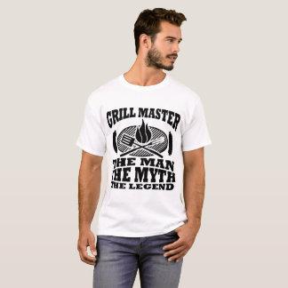 DE MEESTER VAN DE GRILL HET MAN DE MYTHE DE T SHIRT