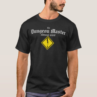 De meester van de Kerker wint altijd (de bout van T Shirt