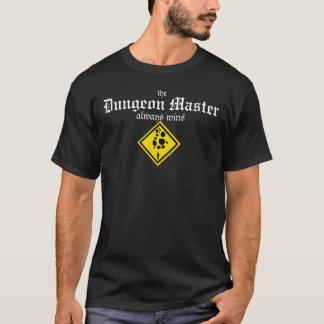 De meester van de Kerker wint altijd (enige T Shirt