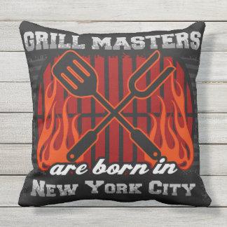 De Meesters van de grill zijn Geboren in de Stad Sierkussen