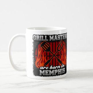 De Meesters van de grill zijn Geboren in Memphis Koffiemok