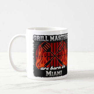 De Meesters van de grill zijn Geboren in Miami Koffiemok