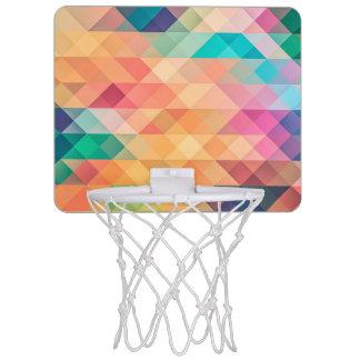 De Meetkunde van de pastelkleur Mini Basketbalbord