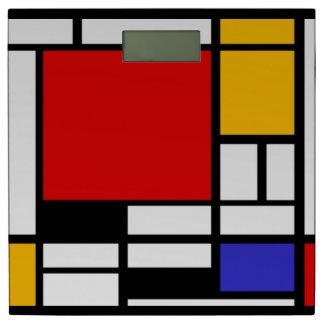 De Meetkunde van Mondrian Personenweegschaal
