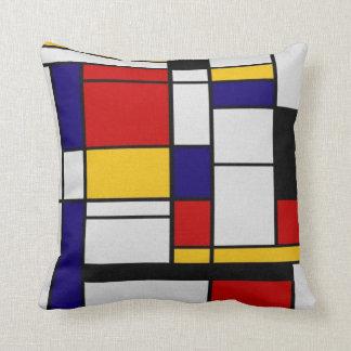 De Meetkunde van Mondrian Sierkussen