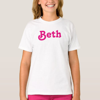 De Meisjes Beth van de kleding T Shirt