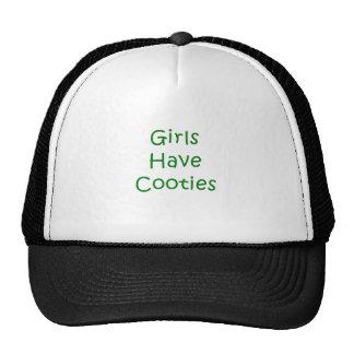 De meisjes hebben Cooties Petten Met Netje