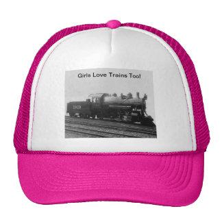 De meisjes houden ook van Treinen! De Trein van de Petten