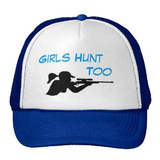 De meisjes jagen ook trucker pet
