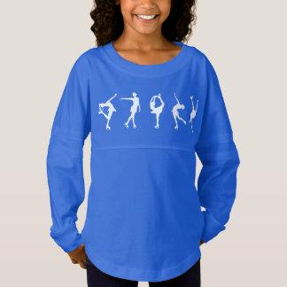 De meisjes stellen Overhemd van het Sleeve van Jersey Shirt