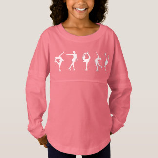 De meisjes stellen Roze van het Sleeve van Jersey Shirt