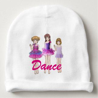De meisjes van de dans baby mutsje