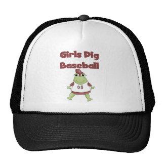De Meisjes van de kikker graven de T-shirts en de Trucker Cap