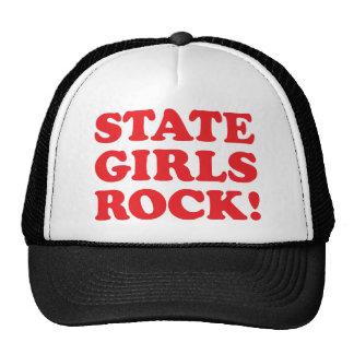 De Meisjes van de staat - Rood Petten Met Netje