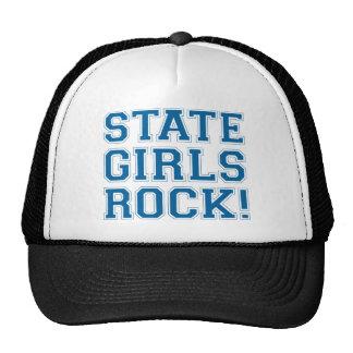 De Meisjes van de staat schommelen - Blauw Trucker Cap