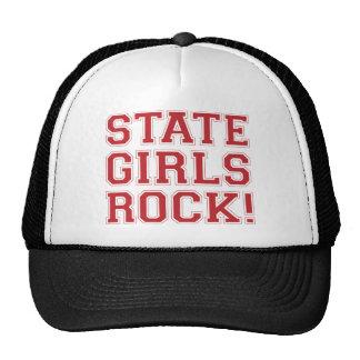 De Meisjes van de staat schommelen - Rood Petten