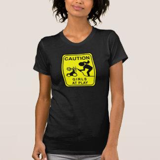 De Meisjes van de voorzichtigheid bij spel T Shirt