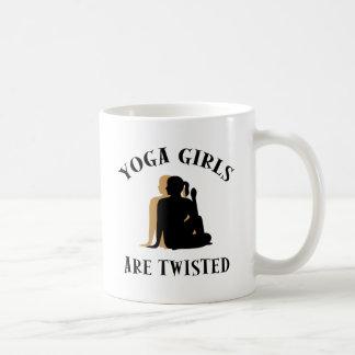 De Meisjes van de yoga zijn Verdraaide Gift Koffiemok