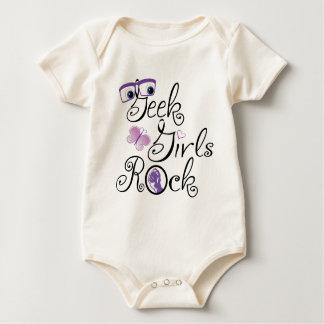 De Meisjes van Geek schommelen Baby Shirt